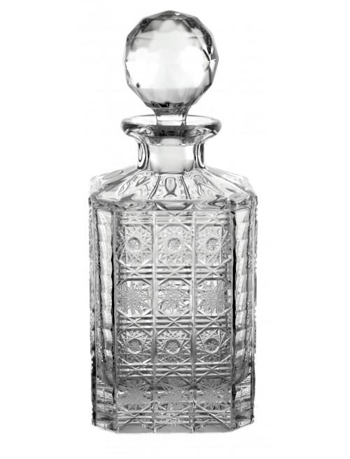 Butelka 500PK, szkło kryształowe bezbarwne, objętość 800 ml