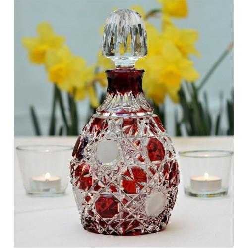 Butelka Śnieżynka, kolor rubinowy, objętość 700 ml