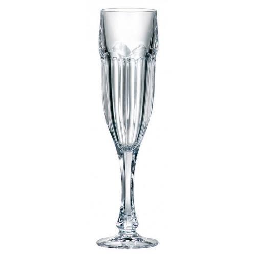 Zestaw kieliszków do wina Safari 6x, szkło bezołowiowe - crystalite, objętość 150 ml