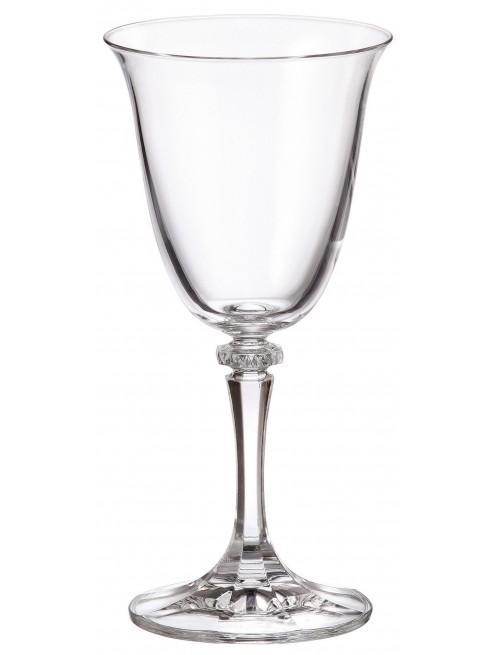 Zestaw kieliszków do wina Branta 6x, szkło bezołowiowe - crystalite, objętość 250 ml