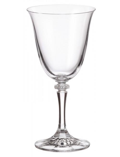 Zestaw kieliszków do wina Branta 6x, szkło bezołowiowe - crystalite, objętość 290 ml