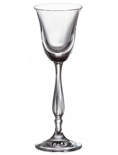 Zestaw kieliszków Fregata 6x, szkło bezołowiowe - crystalite, objętość 60 ml