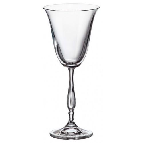 Zestaw kieliszków do wina Fregata 6x, szkło bezołowiowe - crystalite, objętość 185 ml