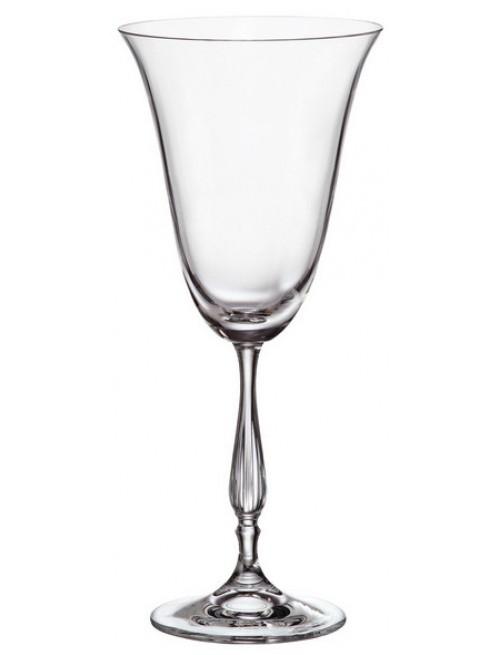 Zestaw kieliszków do wina Fregata 6x, szkło bezołowiowe - crystalite, objętość 350 ml