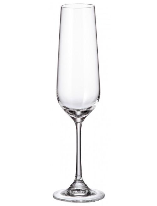 Zestaw kieliszków do wina Strix 6x, szkło bezołowiowe - crystalite, objętość 200 ml