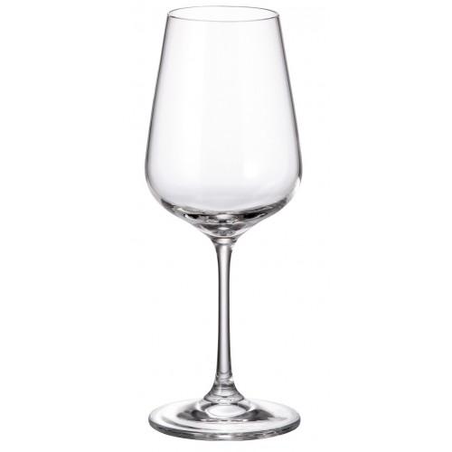 Zestaw kieliszków do wina Strix 6x, szkło bezołowiowe - crystalite, objętość 360 ml