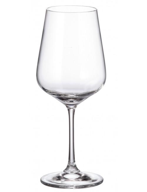 Zestaw kieliszków do wina Strix 6x, szkło bezołowiowe - crystalite, objętość 450 ml