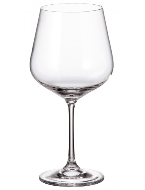Zestaw kieliszków do wina Strix 6x, szkło bezołowiowe - crystalite, objętość 600 ml