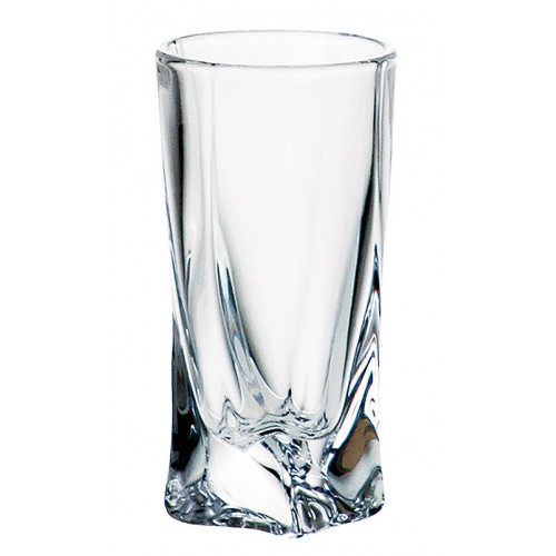 Likierówka Quadro, szkło bezołowiowe - crystalite, objętość 50 ml