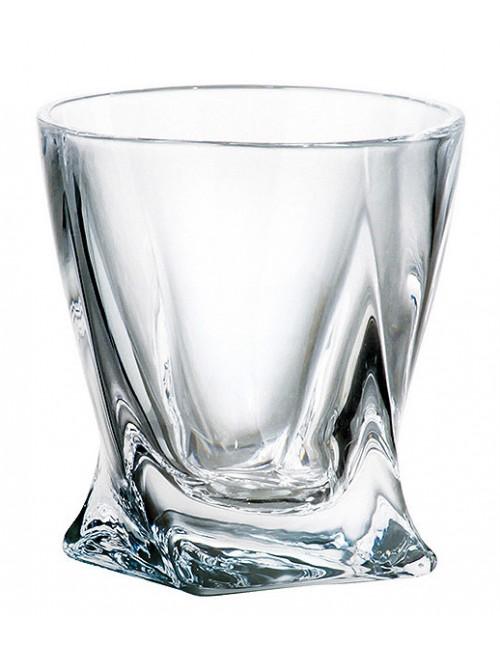 Likierówka Quadro, szkło bezołowiowe - crystalite, objętość 55 ml
