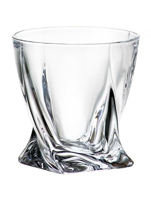 Szklanka Quadro, szkło bezołowiowe - crystalite, objętość 340 ml