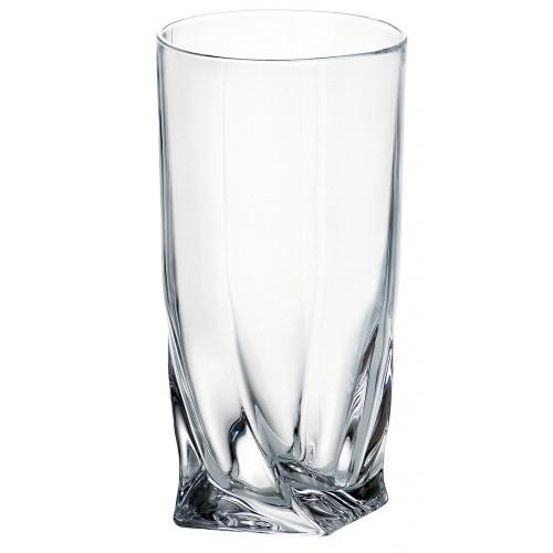 Szklanka Quadro, szkło bezołowiowe - crystalite, objętość 350 ml