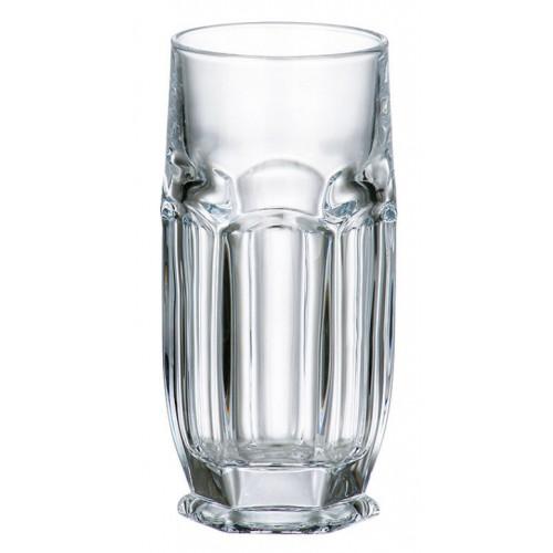 Zestaw Szklanka Safari 6x, szkło bezołowiowe - crystalite, objętość 300 ml