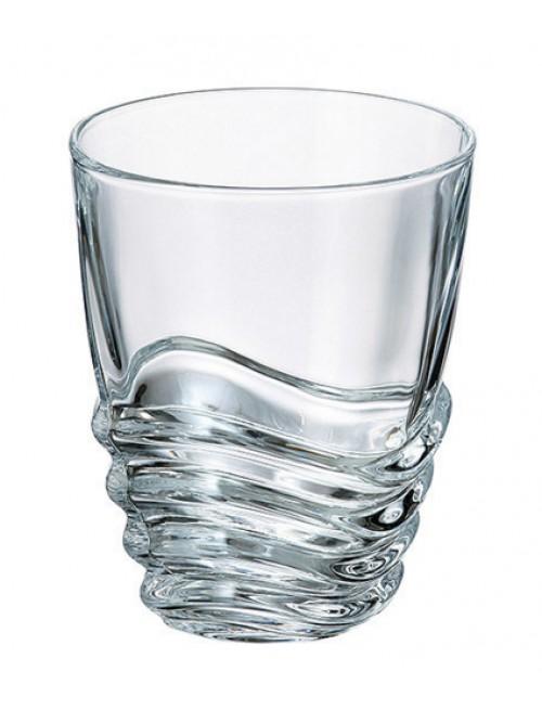 Szklanka Wave, szkło bezołowiowe - crystalite, objętość 280 mm