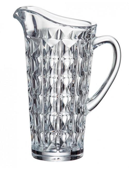 Dzbanek Diamond, szkło bezołowiowe - crystalite, objętość 1250 ml