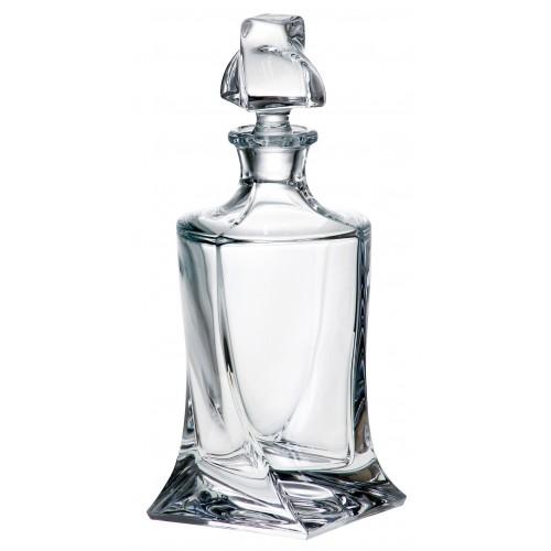 Butelka Quadro, szkło bezołowiowe - crystalite, objętość 850 ml