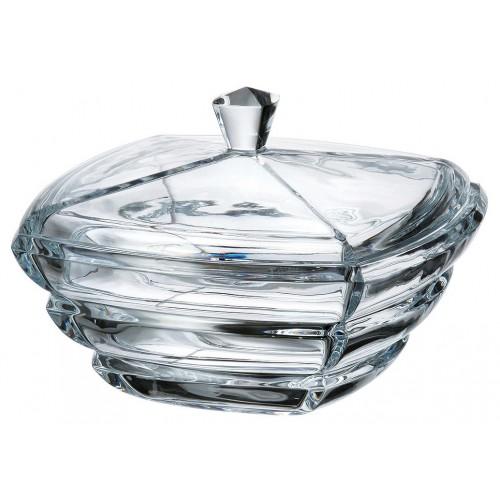 Bomboniera Segment, szkło bezołowiowe - crystalite, średnica 205 mm