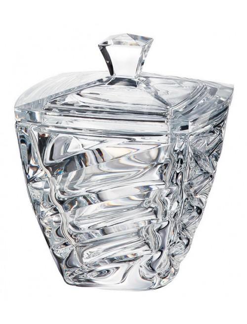 Bomboniera Facet, szkło bezołowiowe - crystalite, średnica 180 mm