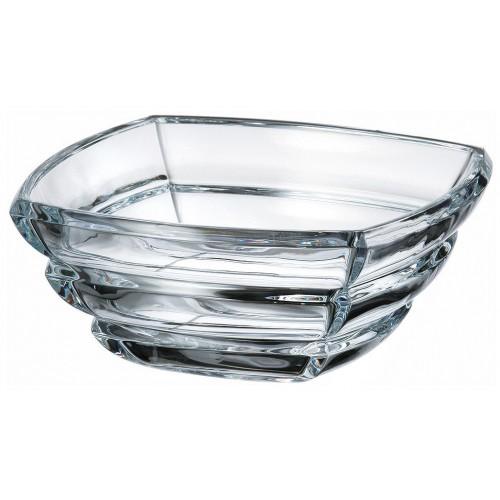 Półmisek Segment, szkło bezołowiowe - crystalite, średnica 205 mm