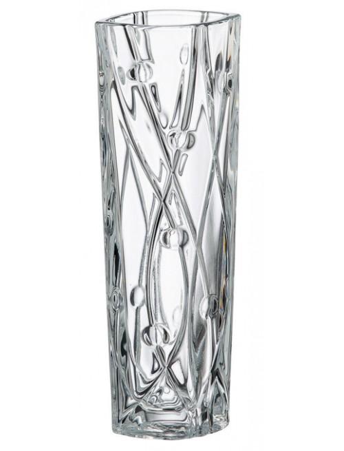Wazon Labirynth Slim, szkło bezołowiowe - crystalite, wysokość 255 mm