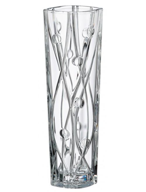 Wazon Labirynth Slim, szkło bezołowiowe - crystalite, wysokość 305 mm