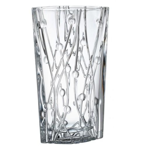Wazon Labirynth, szkło bezołowiowe - crystalite, wysokość 305 mm