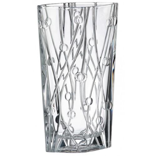 Wazon Labirynth, szkło bezołowiowe - crystalite, wysokość 355 mm