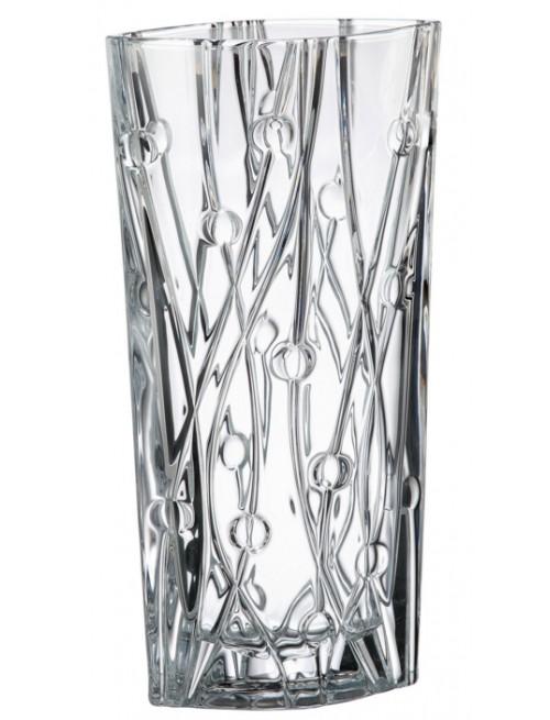 Wazon Labirynth, szkło bezołowiowe - crystalite, wysokość 405 mm