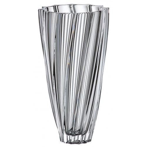 Wazon Scallop, szkło bezołowiowe - crystalite, wysokość 305 mm