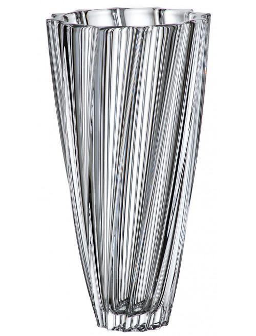 Wazon Scallop, szkło bezołowiowe - crystalite, wysokość 355 mm