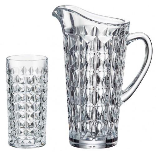 Zestaw Diamond 1+6, szkło bezołowiowe