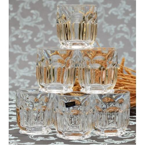 Zestaw Szklanka Safari 6x, szkło bezołowiowe - crystalite, objętość 250 ml