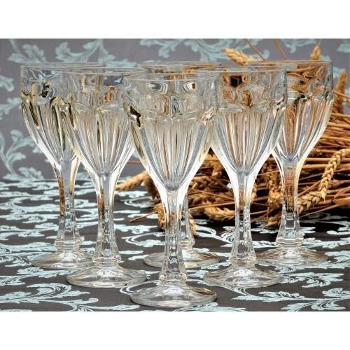 Zestaw kieliszków do wina Safari 6x, szkło bezołowiowe - crystalite, objętość 190 ml