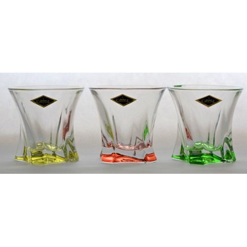 Zestaw szklanek Cooper, szkło bezołowiowe - crystalite, objętość 320 ml