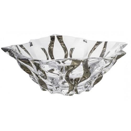 Półmisek Samba platyna, szkło bezołowiowe - crystalite, średnica 305 mm