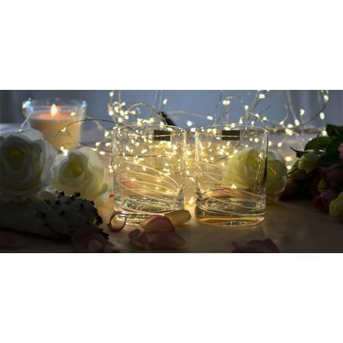 Zestaw Szklanka 2x, szkło bezołowiowe - crystalite, objętość 320 ml