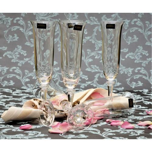 Zestaw kieliszków do wina Branta 6x, szkło bezołowiowe - crystalite, objętość 175 ml