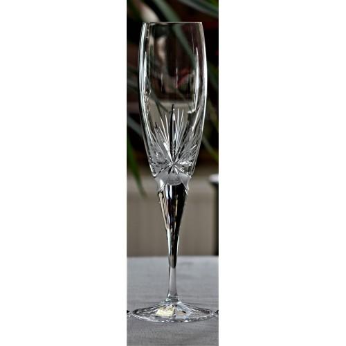 Lampka Girlanda, szkło kryształowe bezbarwne, objętość 200 ml