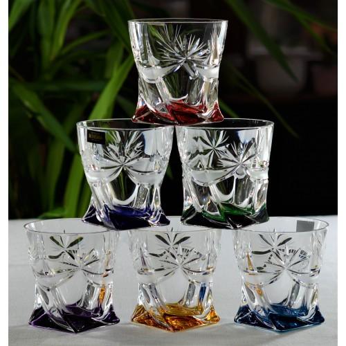 Zestaw szklanek Girlanda,  szkło bezołowiowe - crystalite, objętość 340 ml