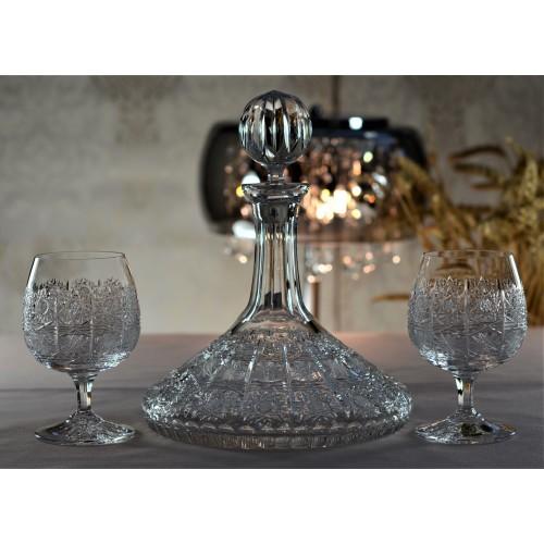 Butelka 500PK, szkło kryształowe bezbarwne, objętość 750 ml