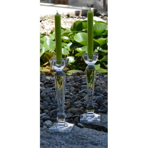 Świecznik Olimp, szkło bezołowiowe - crystalite, wysokość 235 mm