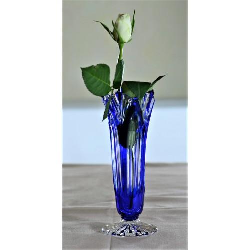 Wazon Lotos, kolor niebieski, wysokość 175 mm