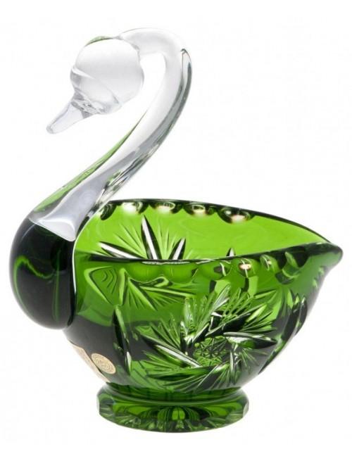 Łabędź Wiatraczek, kolor zielony, średnica 114 mm