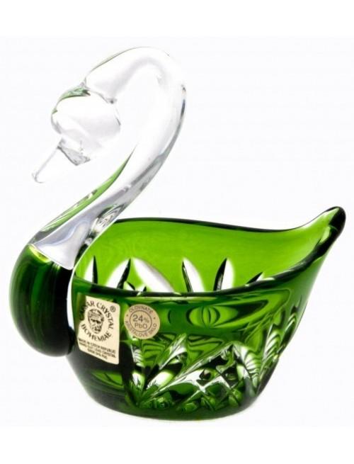 Łabędź Miniature, kolor zielony, średnica 100 mm