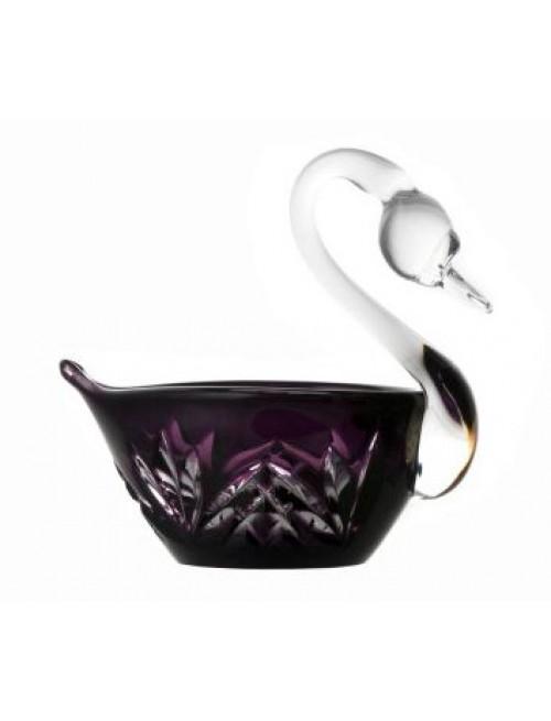 Łabędź Miniature, kolor fioletowy, średnica 100 mm