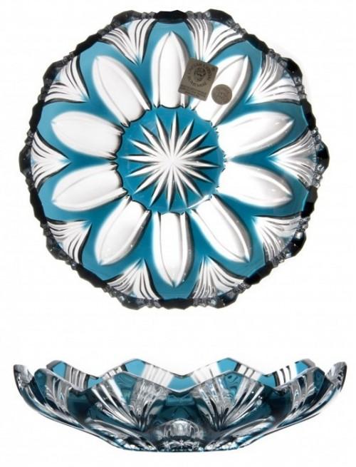 Talerz Lotos, kolor turkusowy, średnica 145 mm