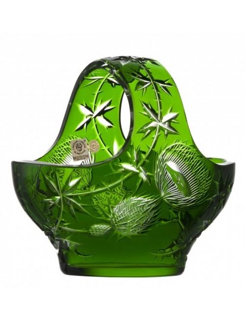 Kosz Oset, kolor zielony, średnica 200 mm