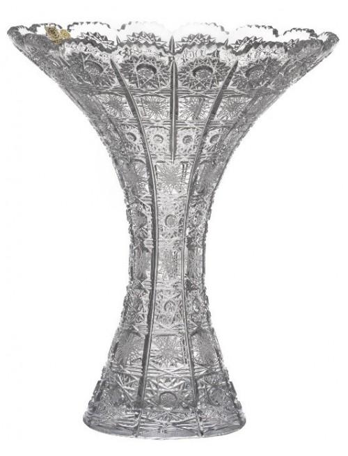 Wazon 500PK, szkło kryształowe bezbarwne, wysokość 300 mm