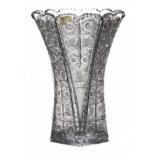 Wazon 500PK, szkło kryształowe bezbarwne, wysokość 275 mm