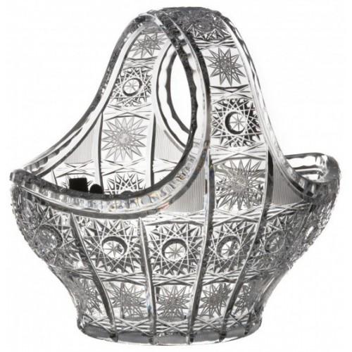 Kosz 500PK, szkło kryształowe bezbarwne, średnica 200 mm